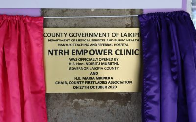 Launch of Nanyuki Teaching and Referral Hospital Cancer Clinic